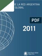 RSE - Memoria 2011 del Pacto Global Argentina