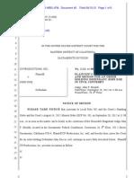 Motion for order holding defendant in civil contempt