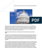 Smaller Business Wanting Government Contracting Support?