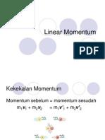 Fisika Dasar - Linear Momentum