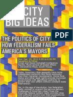 Big City Big Ideas Ester Fuchs Email