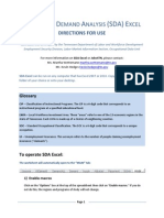 SDA Directions for Use