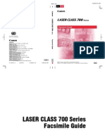 Canon Laser Class 700 Series Manual