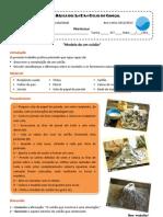 Protocolo-Construcao Modelo de Um Cone Vulcanico