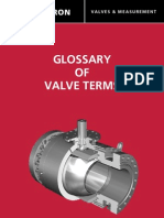 Glossary of Valve Terms Cameron