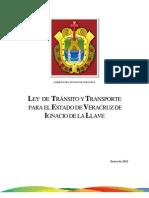 Ley-83-ley de tránsito y transporte para el estado de Veracruz-2012