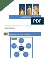 6. PL Presupuesto 2013 CEA Vfinal
