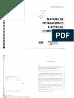 Manual de Instalaciones Electricas Domiciliarias