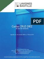catálogo Cruz-Diez. 2009-2010