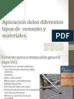 Presentacion de Materiales