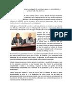 Boletín 015. Salvador Zamora presentará punto de acuerdo para apoyar a productores de maíz jaliscienses.