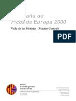 2000 Memòria Campanya Picos Europa (Valle de las Moñetas) ESPAÑOL