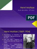 Henri Matisse Fim Da 3 Unidade