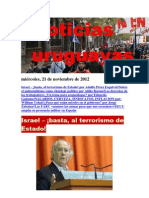Noticias Uruguayas Jueves 22 de Noviembre Del 2012