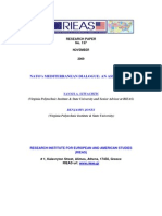 NATO and the Mediterranean dialogue