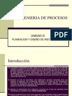 PLANEACION Y DISEÑO PROCESOS