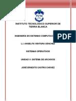 Unidad 5 Sistema de Archivos