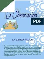 observacion cientifica