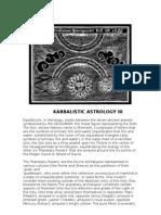 +KABBALISTIC ASTROLOGY III