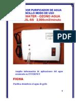 Ozone Agua100l Manual