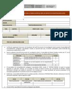 Ficha de Seguimiento Para La Formulacion Del Pia