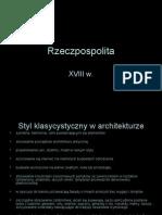 Rzeczpospolita XVIII