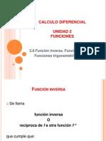 2.8 Funcion Inversa, Logaritmica y Trigonometrica Inversa