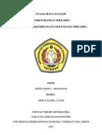 Tugas p.nirkabel(Wisnu 0934010144)