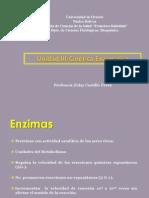 CINETICA ENZIMATICA 2-2011