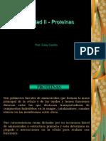 Unidad II Proteinas[1]..