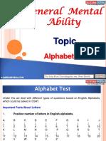 General Mental Ability Alphabet Test