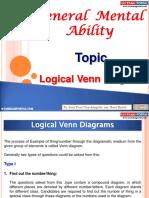 General Mental Ability Logical Venn Diagrams