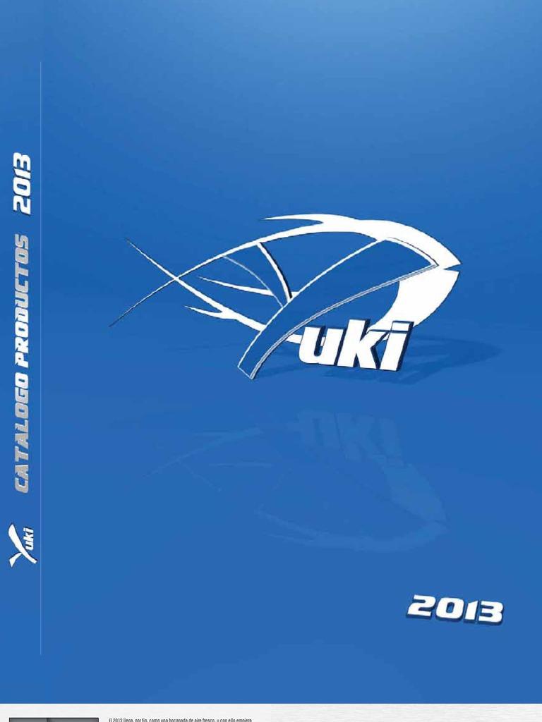 f8f09fdcbece Catalogo Yuki 2013