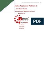 JBoss Enterprise Application Platform 5 Installation Guide en US