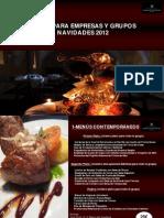 Menús Navidad Restaurante en Alcántara