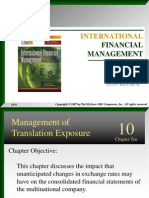 10. Mgt of Translational Exposure