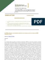 Newsletter Academy d'Avignon n.42