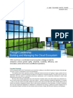 Building Managing Cloud Ecosystem 1