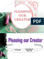 Pleasing Our Creator