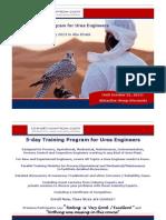 Training Program for Urea Engineers Jan 2013 v3