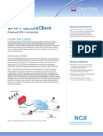 VPN-1 Clients Datasheet