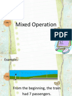Mixed Operation