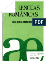 Las lenguas románicas