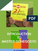 Intro Gonegosyo