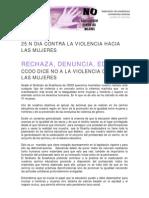 Manifiesto 25N Feccooclm
