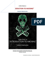 A Mini E-Book Introduction to Hacking