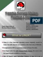 Red Hat Samba Server