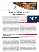 Will the stock market crash again?