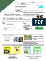 Factores abióticos - quadro informativo