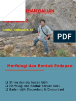 GBG 2.Morfologi Badan Bijih